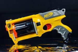 Nerf Wars memory with dad